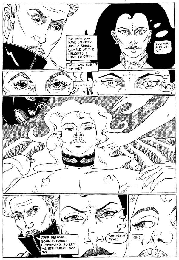 Knights of Sado comic art page 30