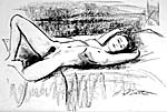 nude model drawing