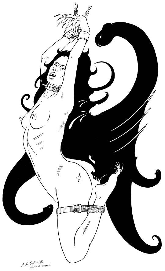 female demon fantasy art