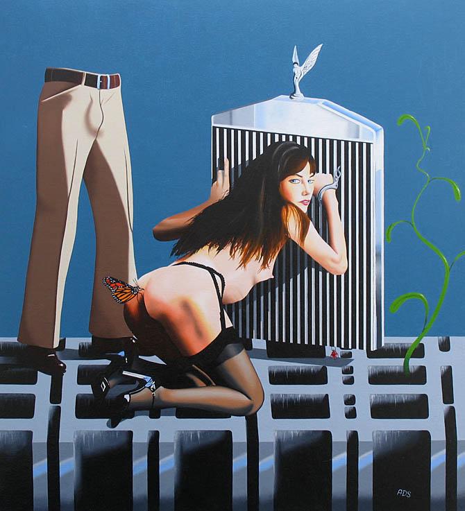 erotic nude surrealism painting