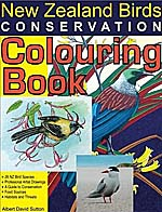New Zealand birds coloring book